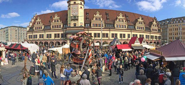 Ostermarkt in Leipzig
